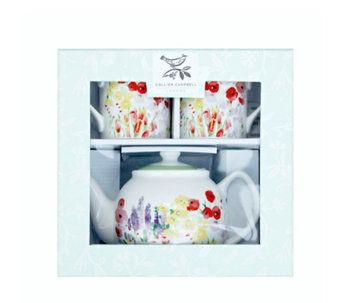 Collier Campbell Teapot & 2 Mugs in Gift Box - 807065