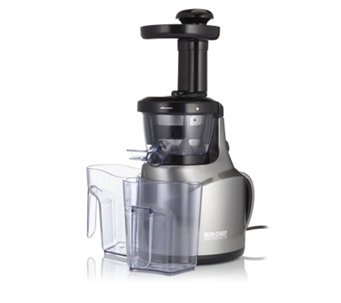 """As Is"" Bio Chef Cold Press Slow Juicer with Recipe Book - 805571"