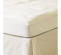 Northern Nights Feather & Down Baffle Box 5cm Featherbed with Skirt - 805871