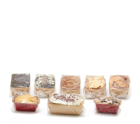 The Original Cake Company Set of 8 Favourite Sponge Cake Selection