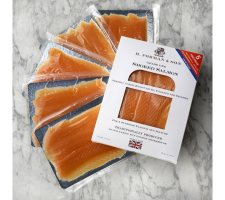 H Forman & Son 5 x 100g Smoked Salmon Selection