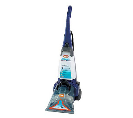 Vax rapide powerjet pro pt carpet washer with pre treatment wand solution qvc uk - Vax carpet shampoo stockists ...