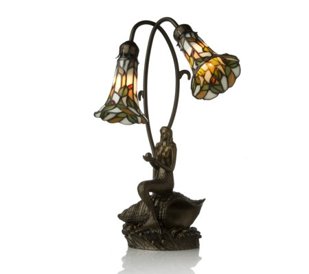 Tiffany Style Handcrafted Mermaid Double Shade Table Lamp QVC UKTiffany Style Lamps Qvc Uk   Home Design   Health support us. Tiffany Style Lamps Qvc Uk. Home Design Ideas