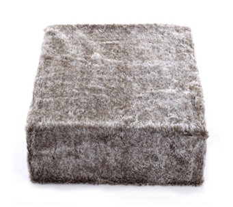 Cozee Home Frosted Sable Faux Fur Throw - 806482