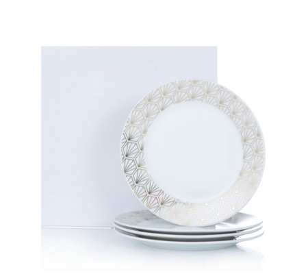 JM by Julien Macdonald Deco Collection 4 Porcelain Side Plates
