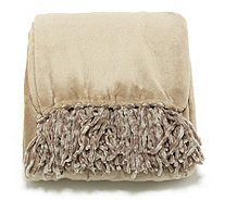 Cozee Home Plush Throw with Fringe 150cm x 200cm - 805688