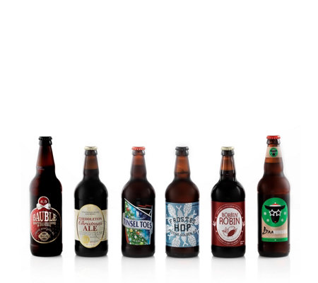 Best of British Beer 6 Piece Christmas Beer Selection