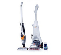 Bissell Quickwash Carpet Washer & Multireach 12v 2 in 1 Vacuum Cleaner Bundle - 805691