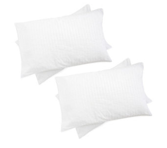 Hotel Collection Medium Support 4 Pack Pillows w/Bounceback - 805293