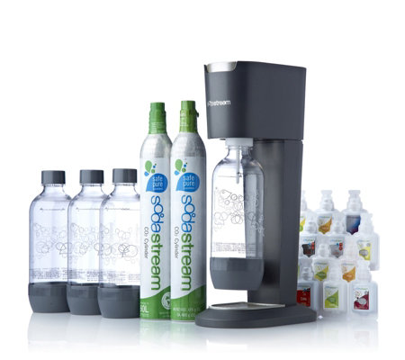 Sodastream Genesis Drinks Machine With 12 Piece Sample