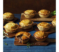The Real Pie Company 10 Piece Steak & Chicken Pie Collection - 807196
