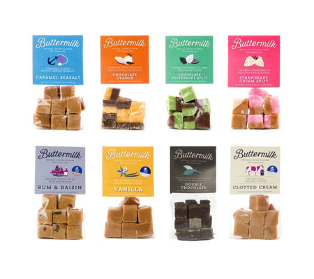 Buttermilk 8 Piece Grab Bag Fudge Selection