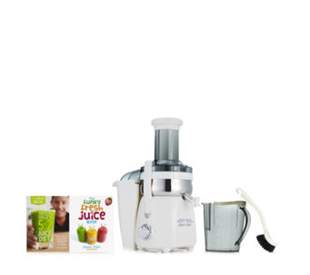 Jason Vale Retro Fast Juicer with 5:2 Juice Diet & The Funky Fresh Juice Books - 804999
