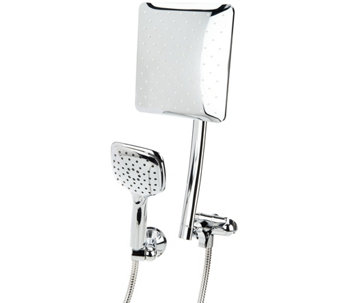 HotelSpa Square or Round Luxury Rainfall Combo Showerhead - V34000