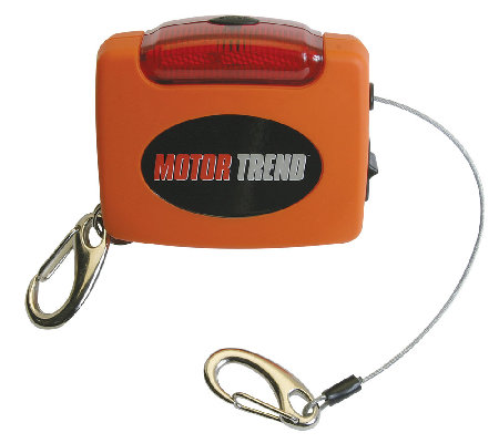 Motor Trend Trunk Extender with Flashing Safety Light