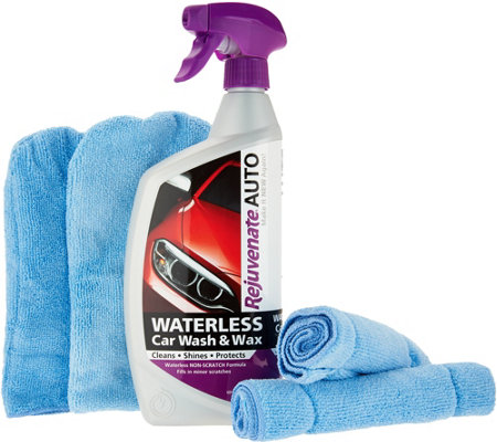 Rejuvenate Auto Waterless Car Wash & Wax Kit