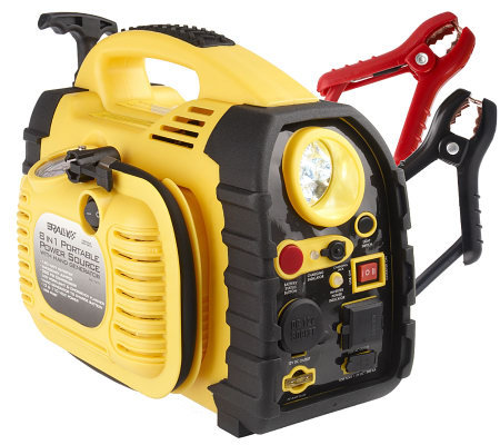 Rally 8-in-1 Portable Power Source w/ Hand Generator