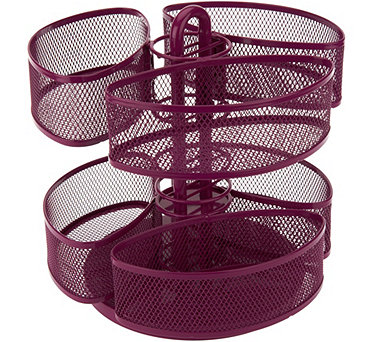 Nifty Spinning Dual Level Large Organizer Carousel - V34407