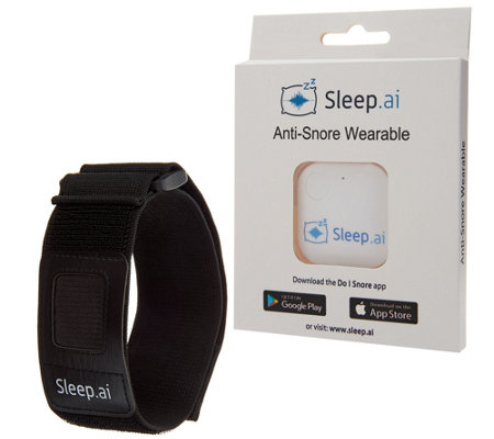 Sleep.ai Anti-Snore Device with Armband