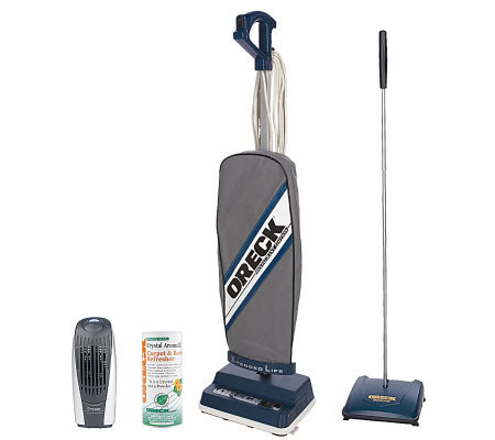 OreckRestaurant Edition Vac w/ Floor Sweeper, Crystal Aroma & Room Deodorizer