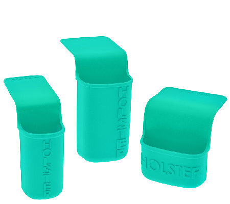 Holster Brands Set of 3 Multi-Purpose Silicone Pockets