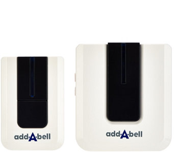 Add-A-Bell Wireless Plug In Door Bell with 50 Sounds/tunes - V33809