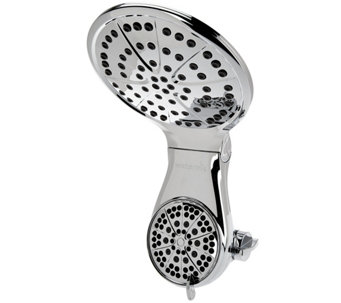 Waterpik Dualspray Drencher Showerhead w/ 7 Settings - V34309
