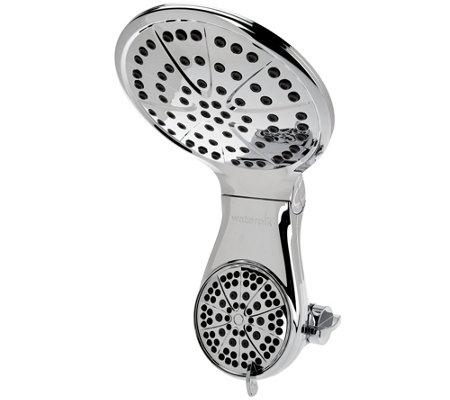 waterpik dualspray drencher showerhead w 7 settings