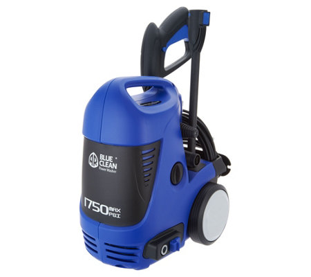 Blue Clean 1750 PSI Pressure Washer with Turbo Nozzle