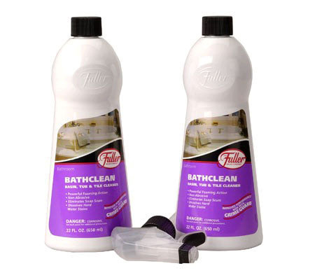 Fuller Brush Set of 2 Bathclean with Sprayer