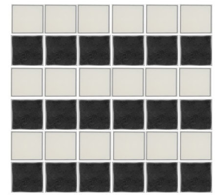 Stick and Go Set of 36 Self-Adhesive Instant Wall Tiles