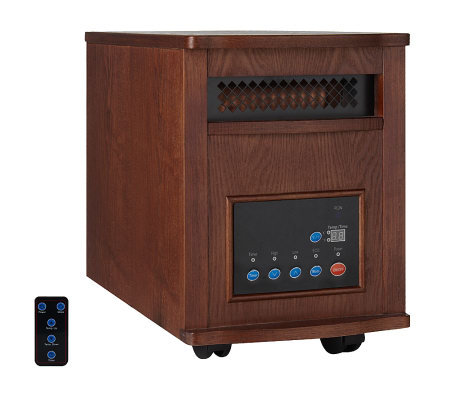 LifeSmart Power Plus 1000W/1500W Infrared Heater with Remote