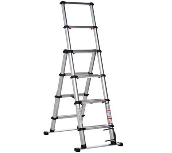 EZSTEP Telescopic 5' Type 1A Compact Step Ladder - V33411