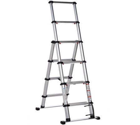 EZSTEP Telescopic 5' Type 1A Compact Step Ladder