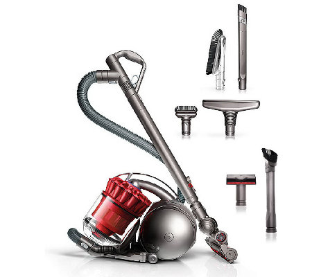 Dyson DC39 Multi-floor Canister Vacuum with 6 Attachments