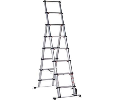 EZSTEP Telescopic 7' Type 1A Compact Step Ladder