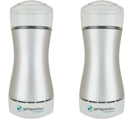 GermGuardian Set of 2 Pluggable UV-C Sanitizer and Odor Reducers