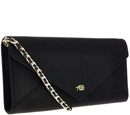 Always Be Secure RFID Leather Envelope Clutch