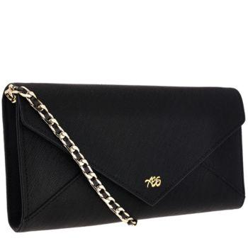 Always Be Secure RFID Leather Envelope Clutch