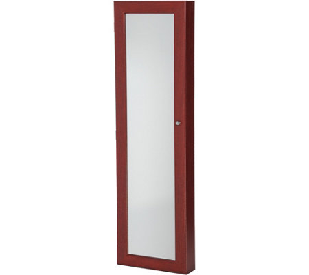 Over the Door Beauty Organizer Armoire with Mirror