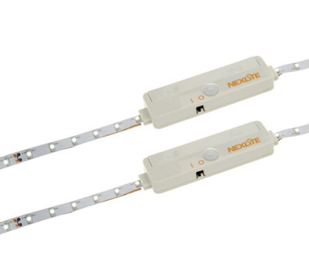 Set of 2 Motion Detective Battery Powered LED Strip Light
