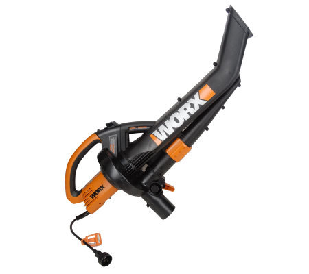 Worx 12 Amp All In One Leaf Blower Vacuum Amp Mulcher Page