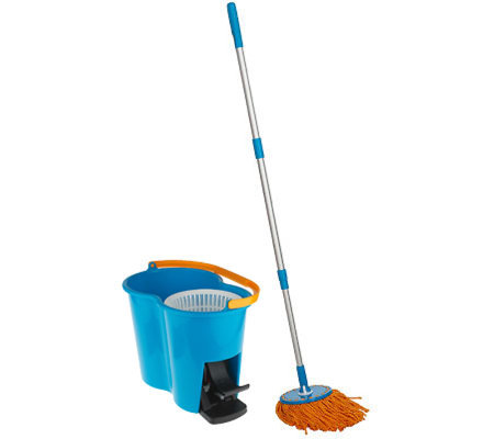 Hurricane 360 Degree Spin Mop w/ Spin Dry Bucket