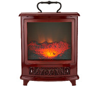 Duraflame Portable Stove Heater with Handle & Flame Effect