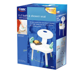 Carex E-Z Bath and Shower Seat with Handles - V118716