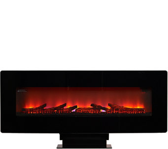 Duraflame Wall-Mounted Flat Screen Space Heater w/Remote - V33516