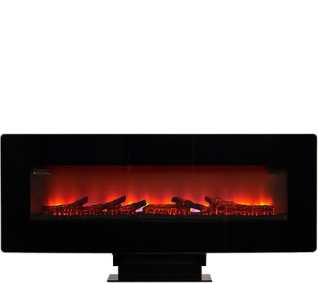 Duraflame Wall-Mounted Flat Screen Space Heater w/Remote