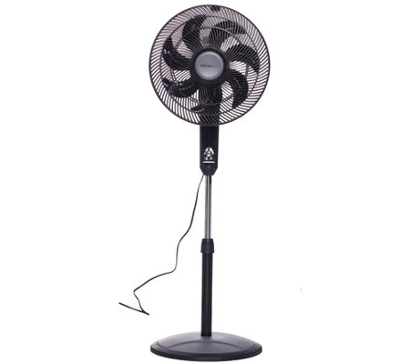 Comfortmate 3-in-1 Pedestal & Tabletop Fan with Remote