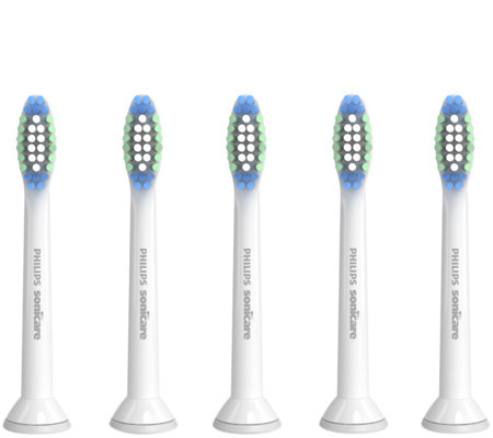 Philips Sonicare SimplyClean Standard 5-Pack Toothbrush Heads