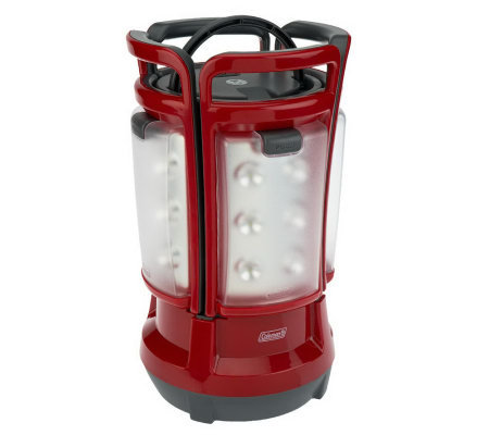 Coleman Rechargeable Quad Lantern w/24 LED Lights